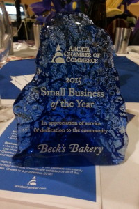 We are so honored! Thank you Arcata Chamber of Commerce!